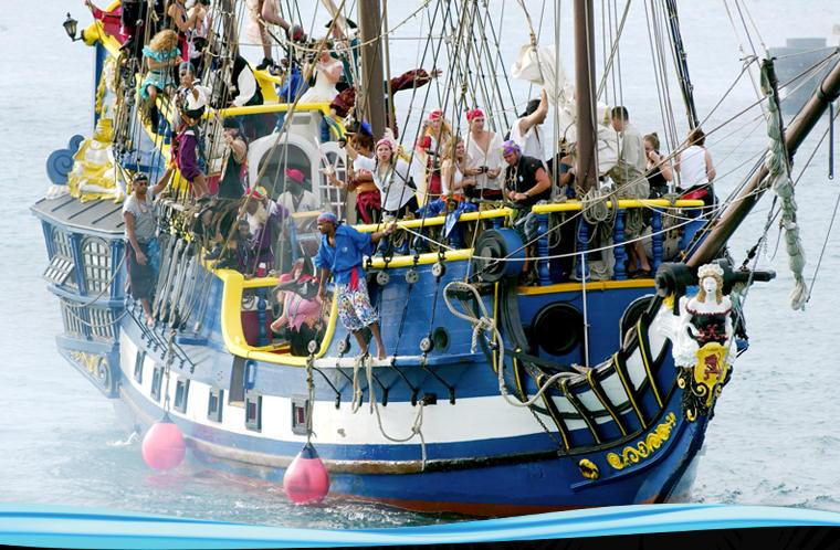 Tìm hiểu cướp biển Caribbe qua tuần lễ Cướp biển ở quần đảo Cayman (1)