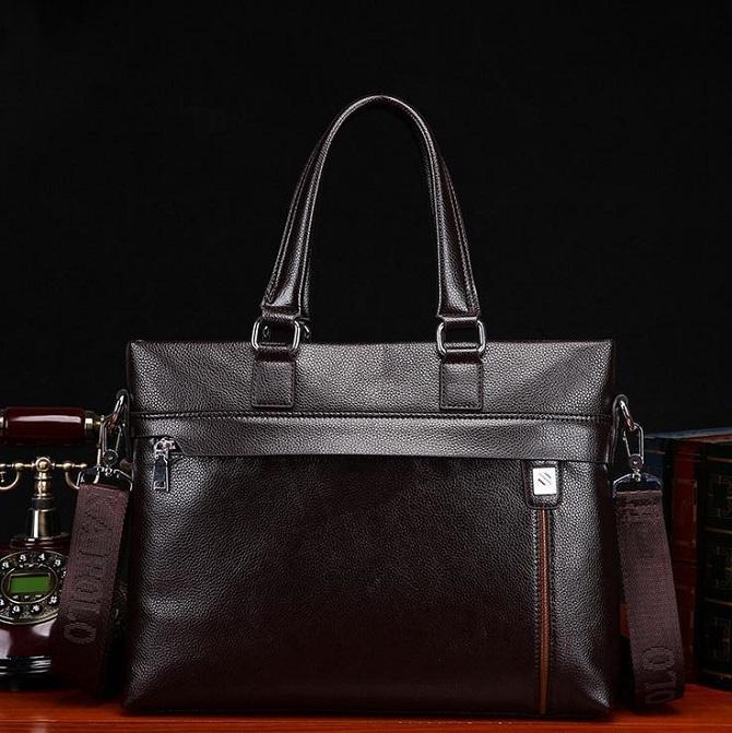 Tự tin hơn với túi xách da nam hàng hiệu (1)
